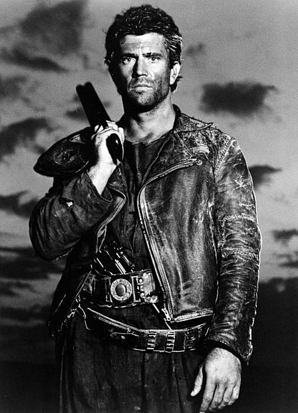 """Actor Mel Gibson is shown as Mad Max in the 1985 action-adventure film """"Mad Max Beyond Thunderdome."""""""