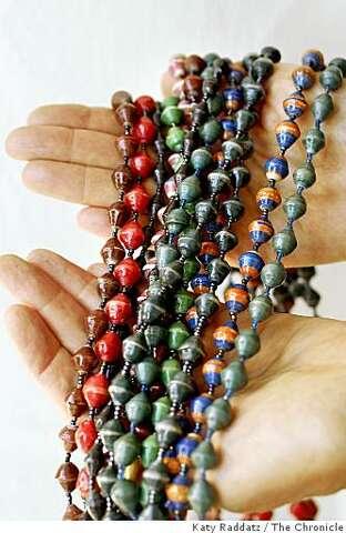 Bead-making helps Ugandan women shed poverty - SFGate