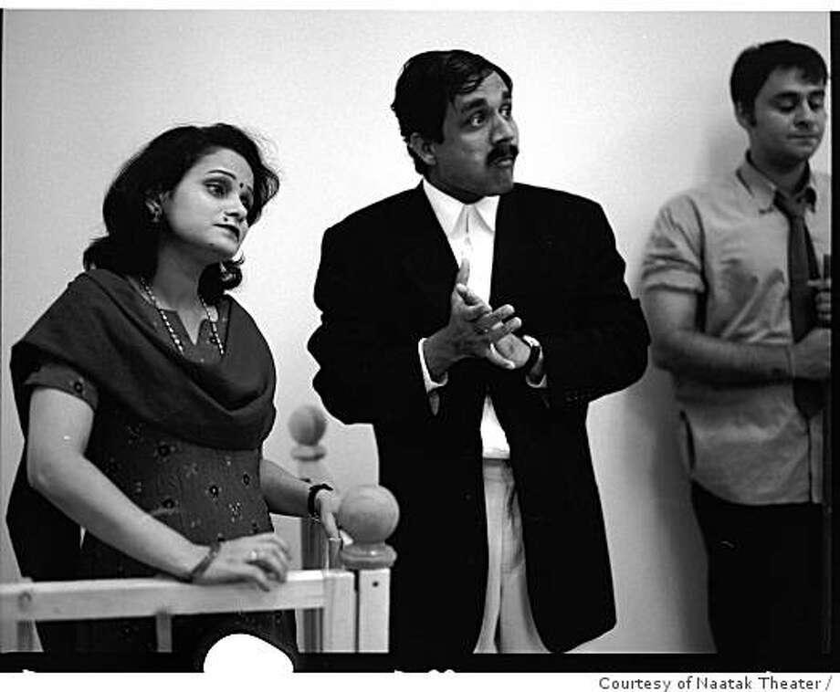 Naatak Theater's Khaamosh! Adaalat Jaarii Hai. First performed in 1996 in Palo Alto. Photo: Courtesy Of Naatak Theater