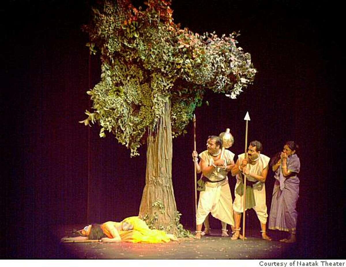 Naatak Theater's Tathaa Kuru. Performed in Saratoga in 2004.