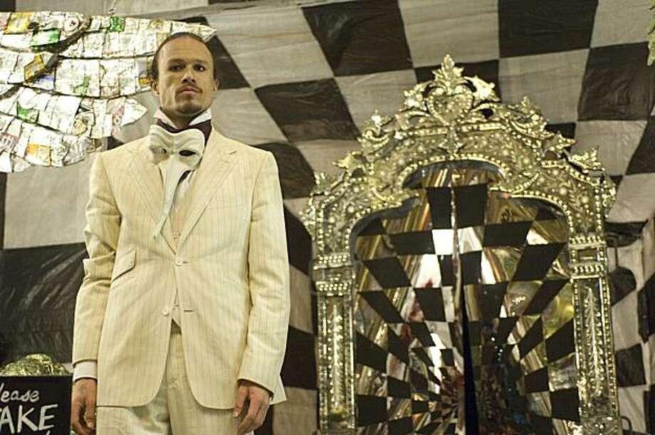 """Heath Ledger in """"The Imaginarium of Dr. Parnassus."""" Photo: Sony Pictures Classics"""