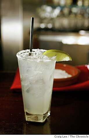 A Classica Margarita at Fonda restaurant in Albany, Calif., on July 18, 2008. Photo by Craig Lee / The Chronicle Photo: Craig Lee, The Chronicle