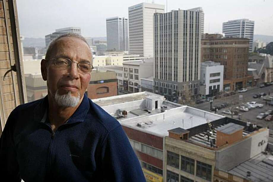 "Steve Coyle is seen in his urban design firm's office in Oakland, Calif., on Friday, Jan. 15, 2010. Coyle, the principal of Town-Green which emphasizes sustainable design, is miffed that his name is attached to the AB 32 Implementation Group coalition of ""green"" companies despite several attempts to disassociate himself. Photo: Paul Chinn, The Chronicle"