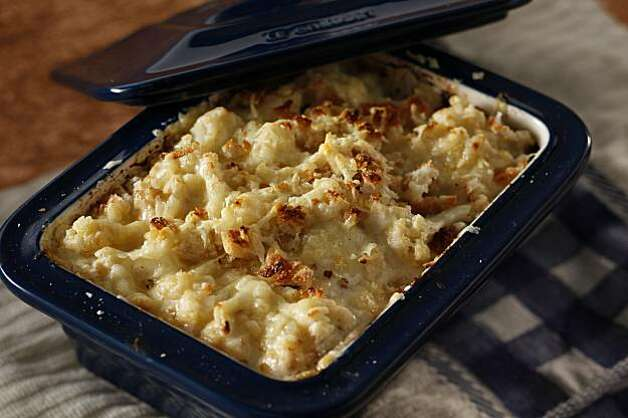 Roasted Cauliflower and Leek Gratin in San Francisco, Calif., on ...