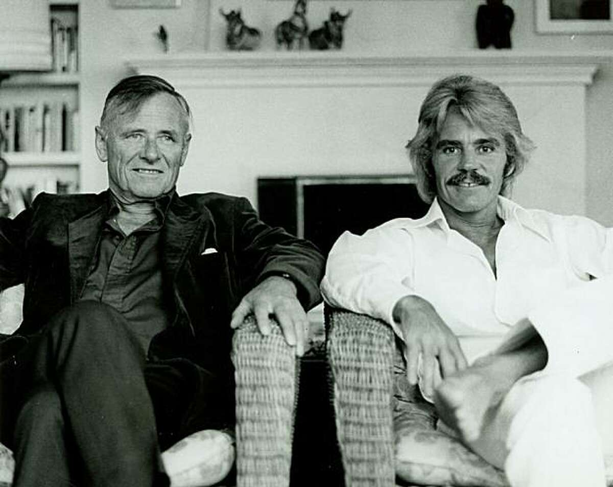 """Author Christopher Isherwood (left) and artist Don Bachardy in the late '70s. Their 34-year relationship is the subject of the documentary """"Chris & Don: A Love Story."""""""