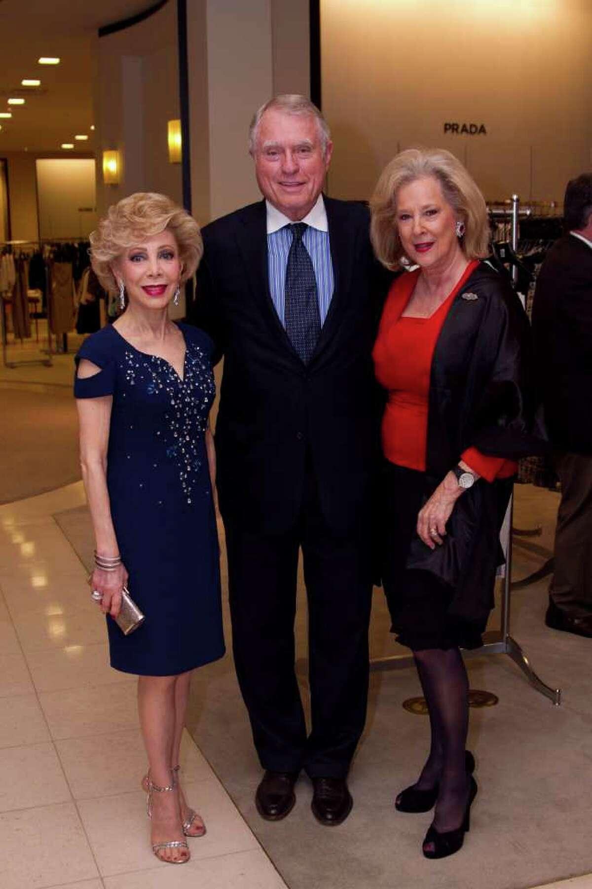 Margaret Alkek Williams, Jim Daniels and Mary Ann McKeithan
