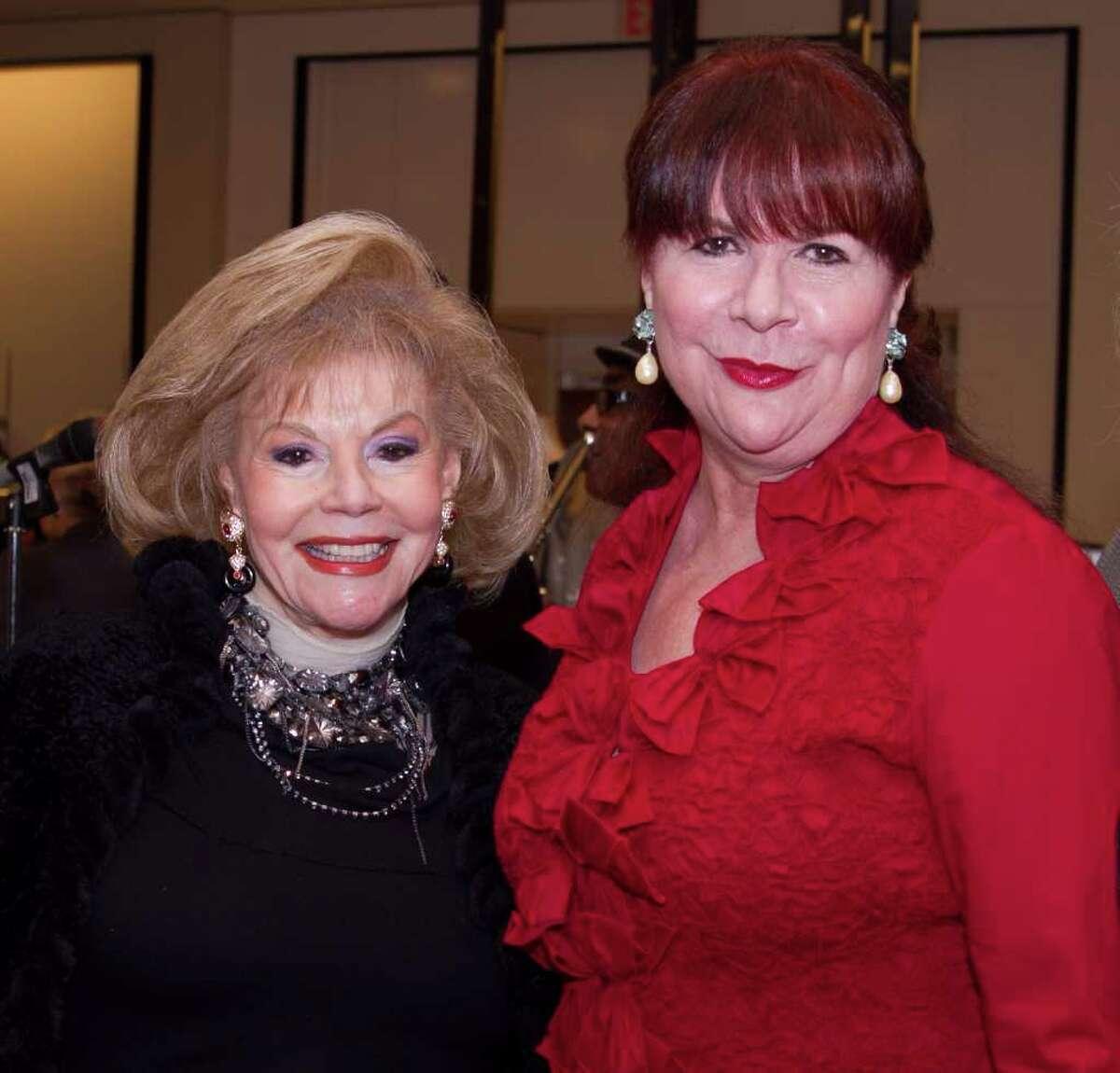 Harriet Gertner, left, and Barbara Van Postman