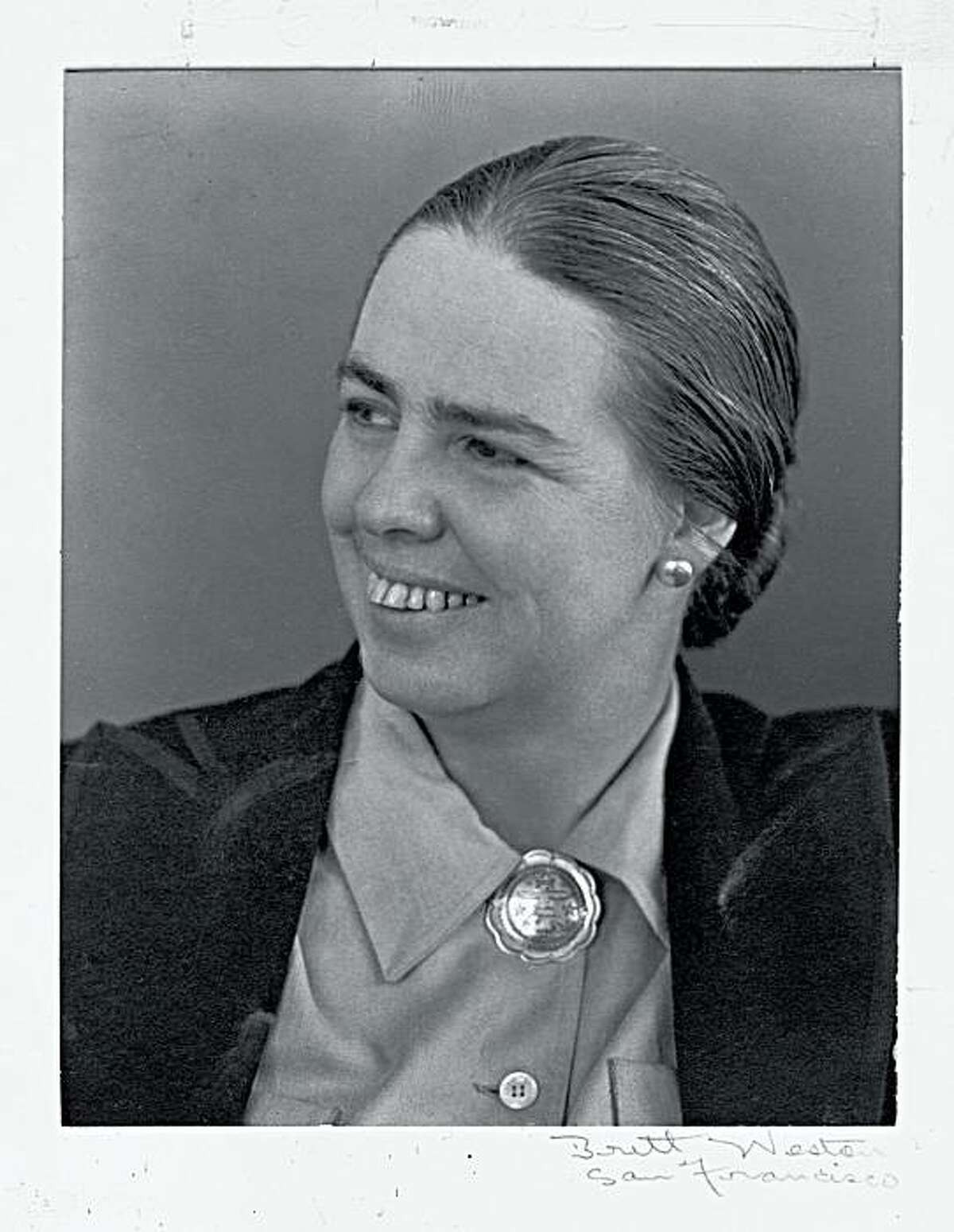 Grace Morley, the first director of SFMOMA