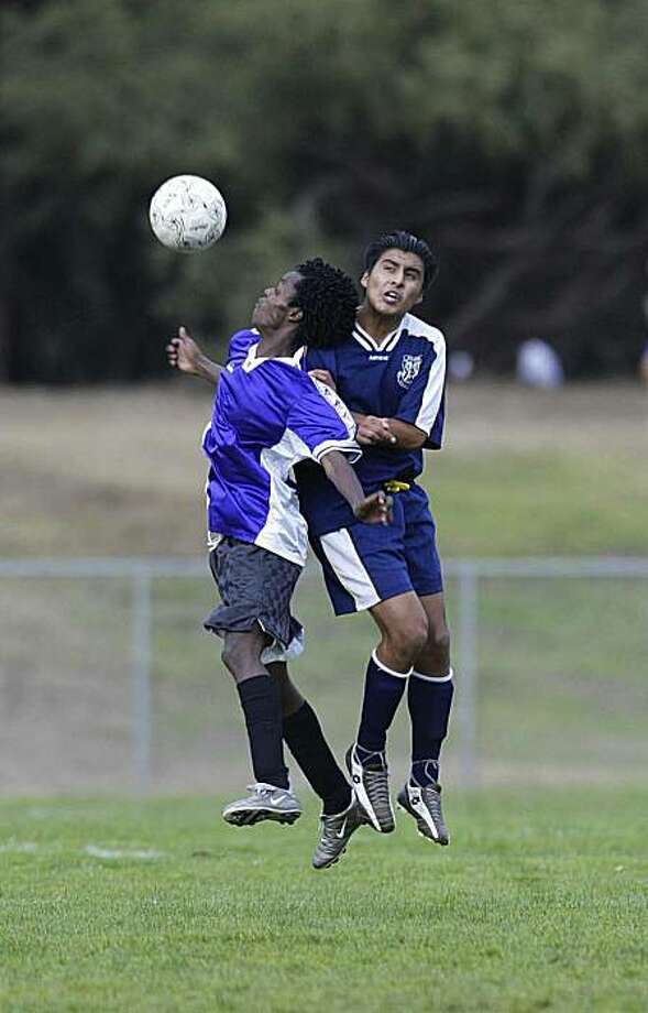 soccer Photo: Shelley Eades, For The Chronicle