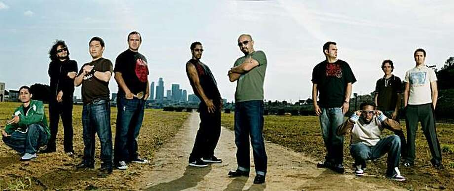 The band Ozomatli Photo: Giant Noise