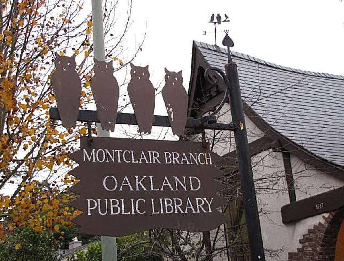 Location: Montclair, Oakland Site: Montclair Branch Library