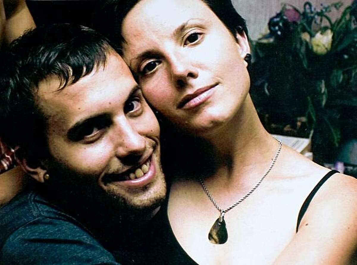 FILE - This undated file photo, released by freethehikers.org, Aug. 20, 2009, shows Americans Shane Bauer, left, and Sarah Shourd. Iranian state news agency IRNA said Monday, Nov. 9, 2009 that Iran has charged Bauer, Shourd and Josh Fattal with espionage. (AP Photo/freethehikers.org, File) NO SALES
