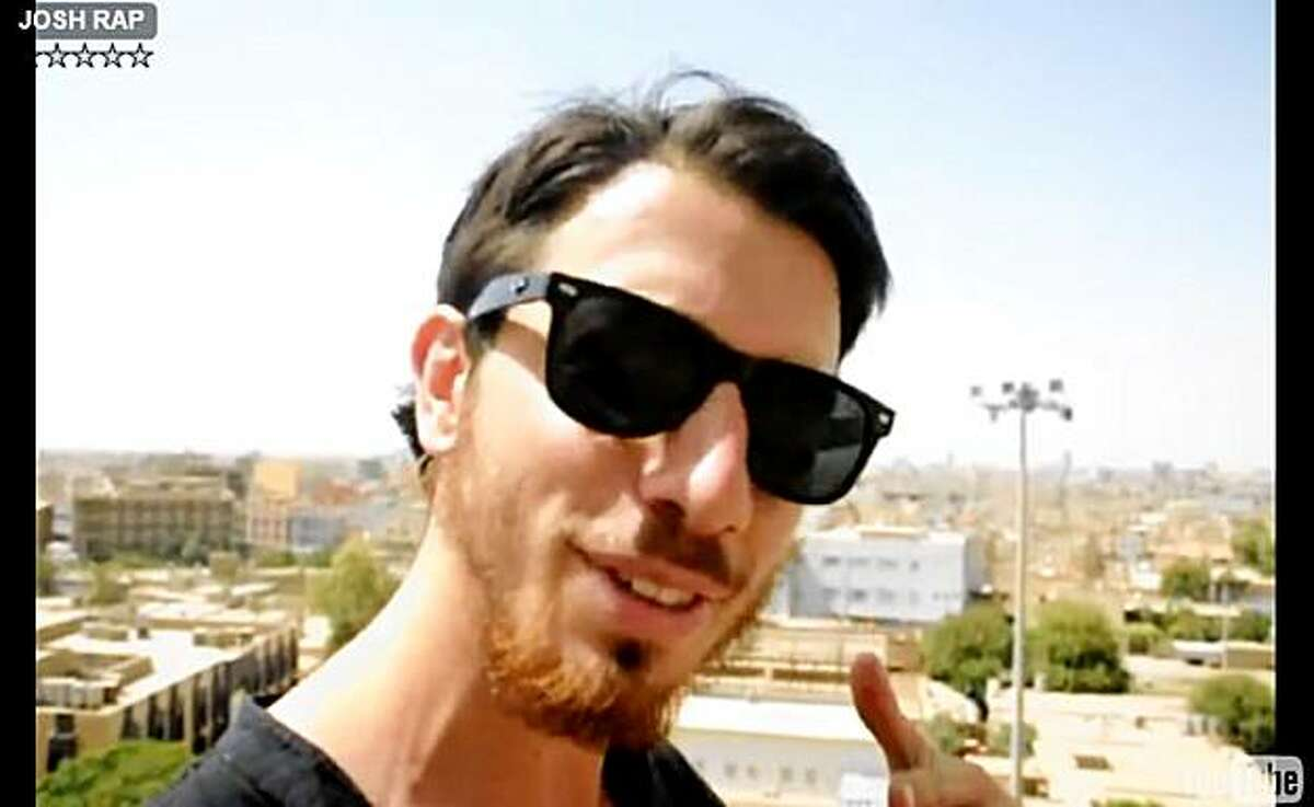 FILE - This image made from a July 29, 2009 video released Tuesday, Oct. 27, 2009 by Shon Meckfessel and the families of Shane Bauer, Sarah Shourd and Josh Fattal, shows Fattal in the Kurdish city of Irbil, Iraq. Iranian state news agency IRNA said Monday, Nov. 9, 2009 that Iran has charged Fattal, and fellow American hikers Shane Bauer and Sarah Shourd with espionage (AP Photo/Shon Meckfessel) NO SALES
