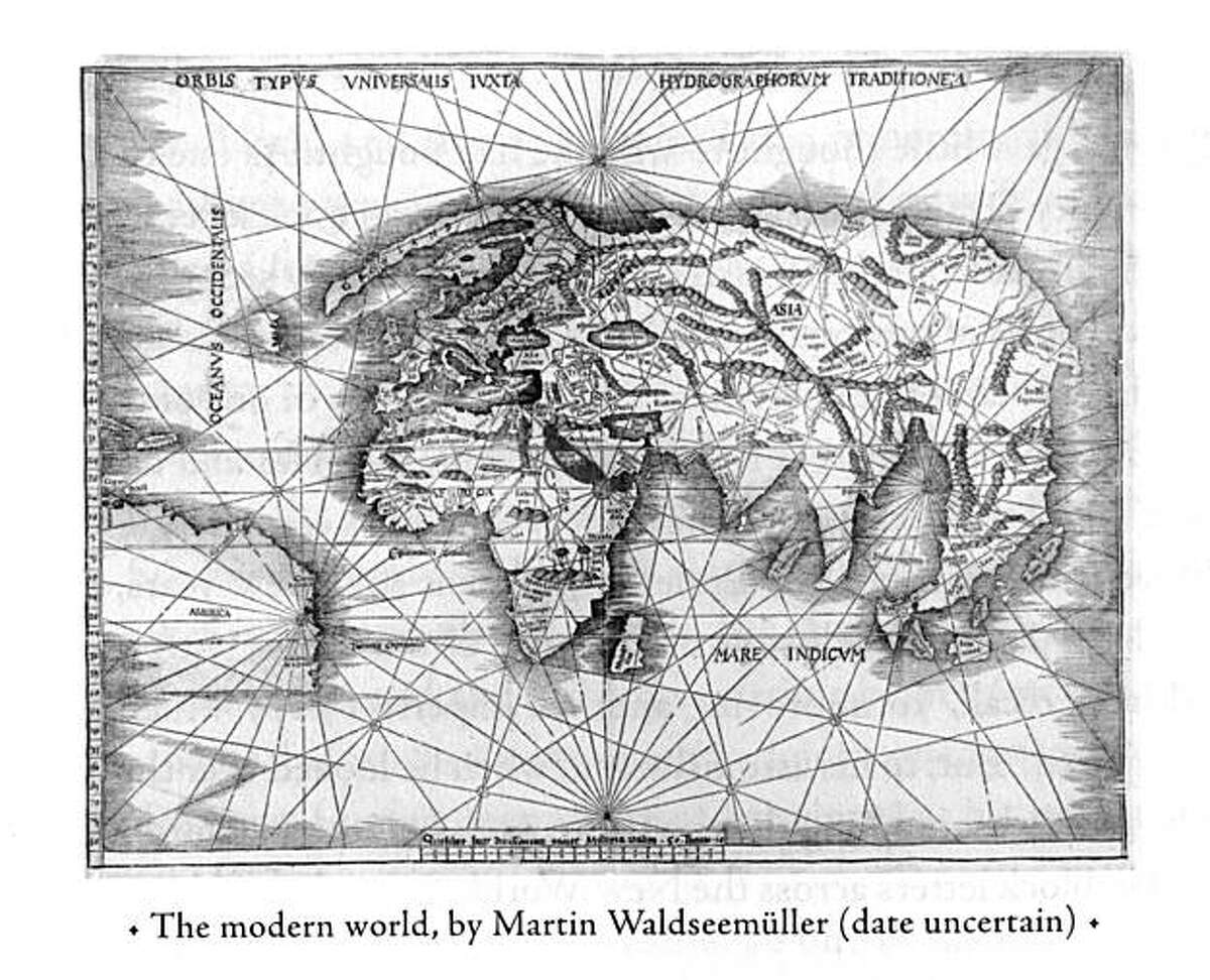 the modern world, by martin waldseemüller(date uncertain)