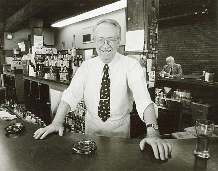 wayback13.jpg  December 7, 1984  Al McVeigh, owner of the M&M Bar Photo: Chris Stewart, The Chronicle, File