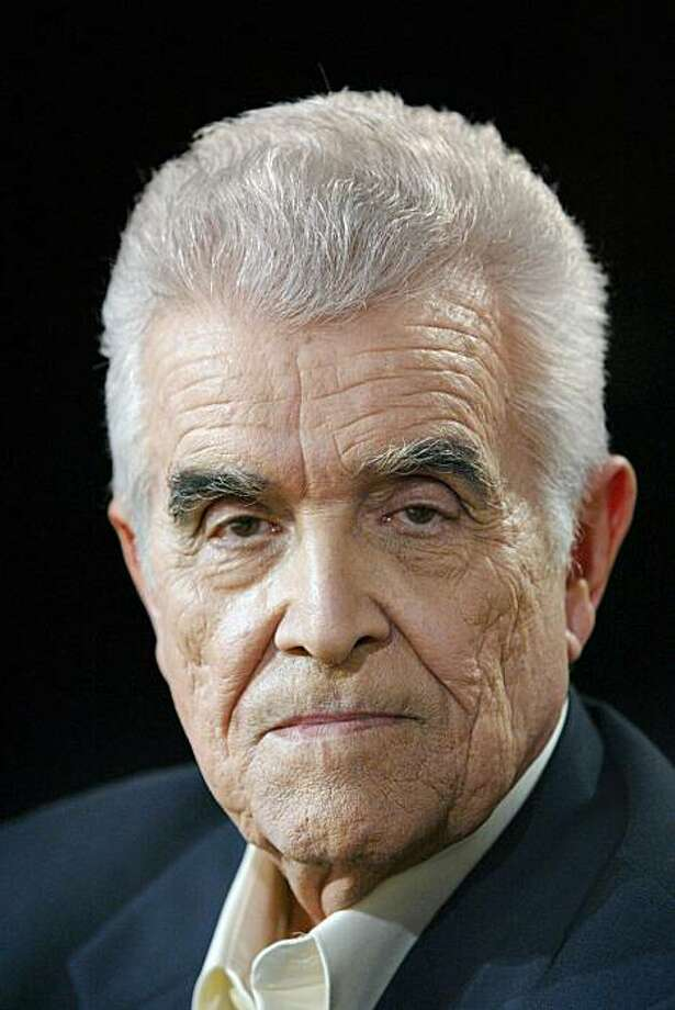 PARIS, FRANCE:  (FILES) - A picture dated 29 April 2004 shows French philosopher Rene Girard, who was elected 17 March 2005 new member of the Academie francaise.     AFP PHOTO FRANCOIS GUILLOT  (Photo credit should read FRANCOIS GUILLOT/AFP/Getty Images) PARIS, FRANCE:  (FILES) - A picture dated 29 April 2004 shows French philosopher Rene Girard, who was elected 17 March 2005 new member of the Academie francaise.     AFP PHOTO FRANCOIS GUILLOT  (Photo credit should read FRANCOIS GUILLOT/AFP/Getty Images) Photo: Francois Guillot, Getty Images AFP/Getty Images
