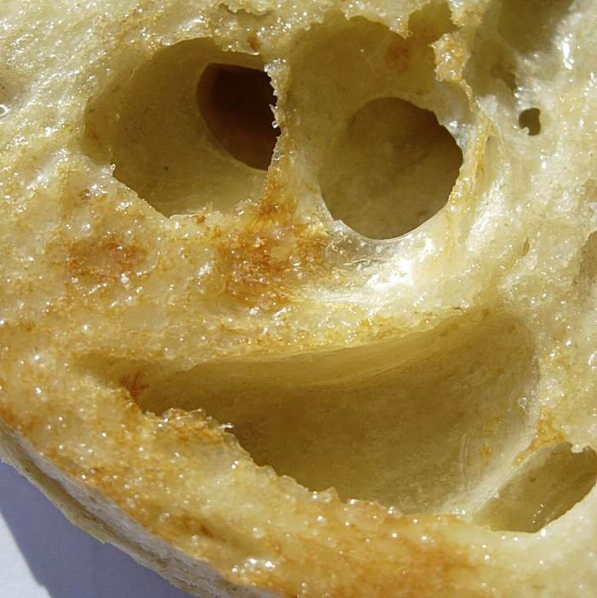 Ruth Kaiser this smiley face seen in a buttered sourdough piece of toast. Two years ago, Lafayette pre-school teacher Ruth Kaiser started posting photos of what she calls