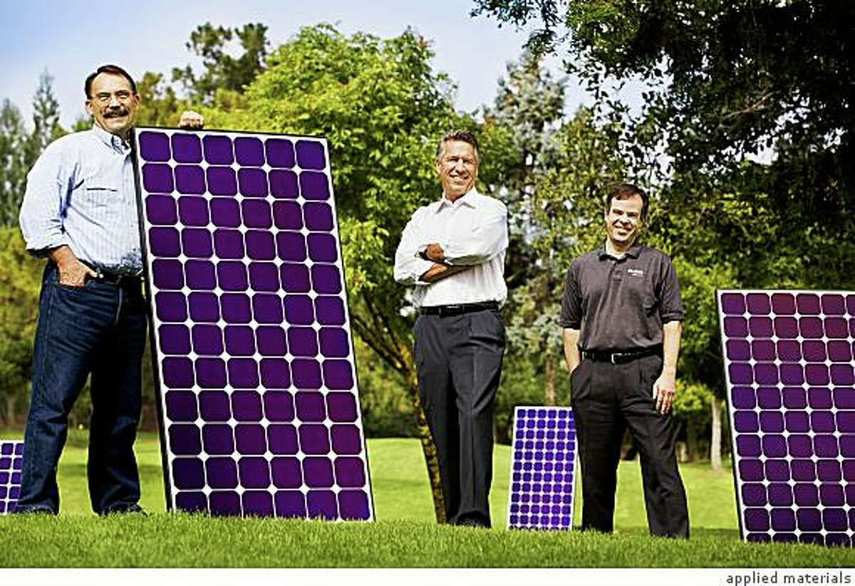 Charles Gay, general manager of Applied Materials� solar power division, said solar power in California currently costs about 30 cents per kilowatt hour, or 17 cents when federal tax credits for large solar systems are taken into account. By contrast, wholesale power prices in the state tend to fall between 8 cents and 11 cents per kilowatt hour, according to the U.S. Energy Information Administration.