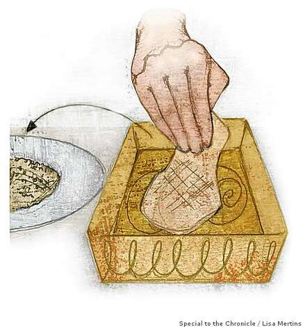 "Breading illustration for Amanda Gold's ""10 TECHNIQUES EVERY COOK SHOULD KNOW""Lisa Mertins / Special to the Chronicle Photo: Lisa Mertins, Special To The Chronicle"