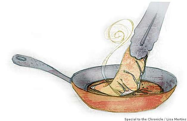 "Browning illustration for Amanda Gold's ""10 TECHNIQUES EVERY COOK SHOULD KNOW""Lisa Mertins / Special to the Chronicle Photo: Lisa Mertins, Special To The Chronicle"