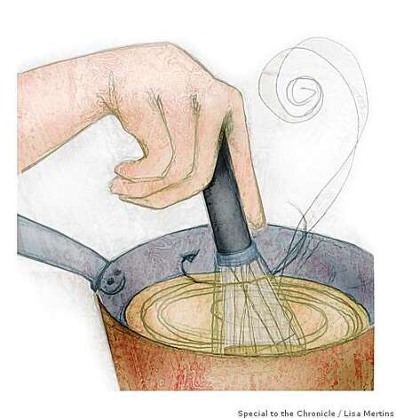 "Roux illustration for Amanda Gold's ""10 TECHNIQUES EVERY COOK SHOULD KNOW""Lisa Mertins / Special to the Chronicle Photo: Lisa Mertins, Special To The Chronicle"