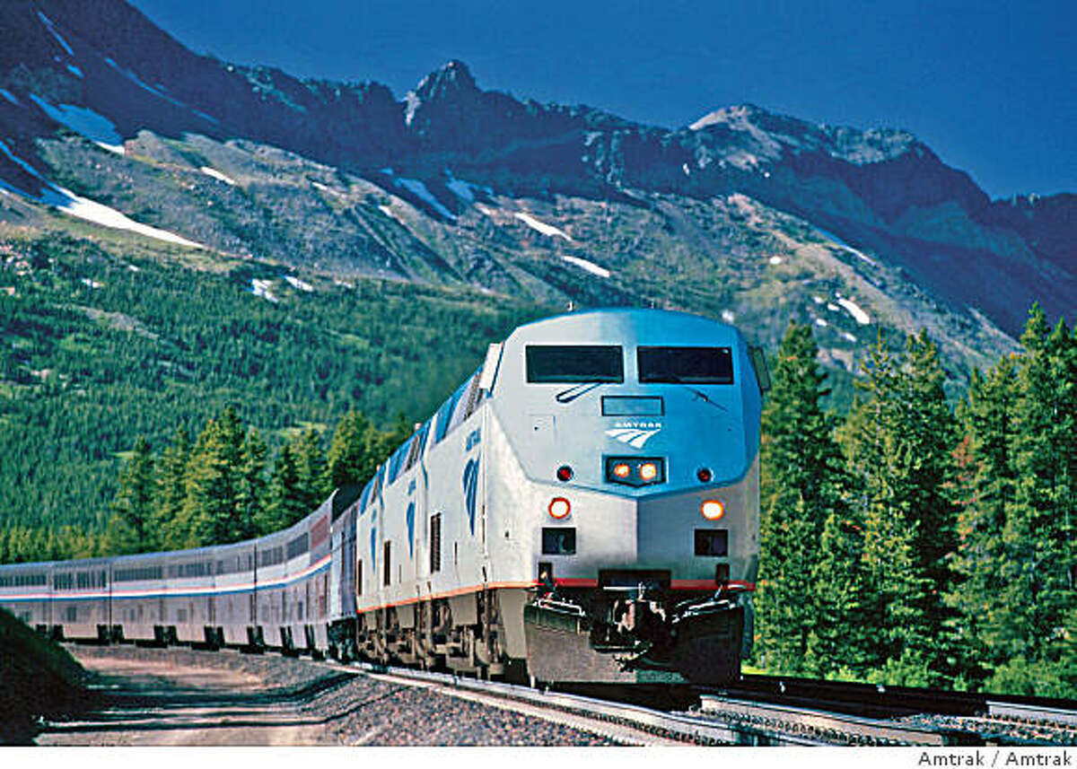 ** FOR IMMEDIATE RELEASE **This undated photo provided by Amtrak shows one of their trains traveling through the western portion of the United States. (AP Photo/Amtrak)