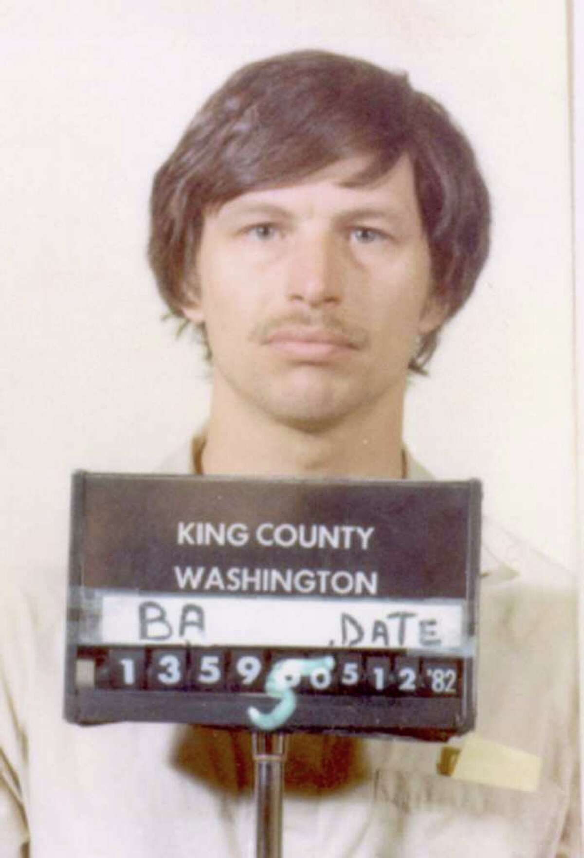 Gary Leon Ridgway, pictured in a 1982 King County Sheriff's booking mug. Ridgway was long suspected in the killings but not arrested until 2001. (AP Photo/King County Sheriff's Department, ho)