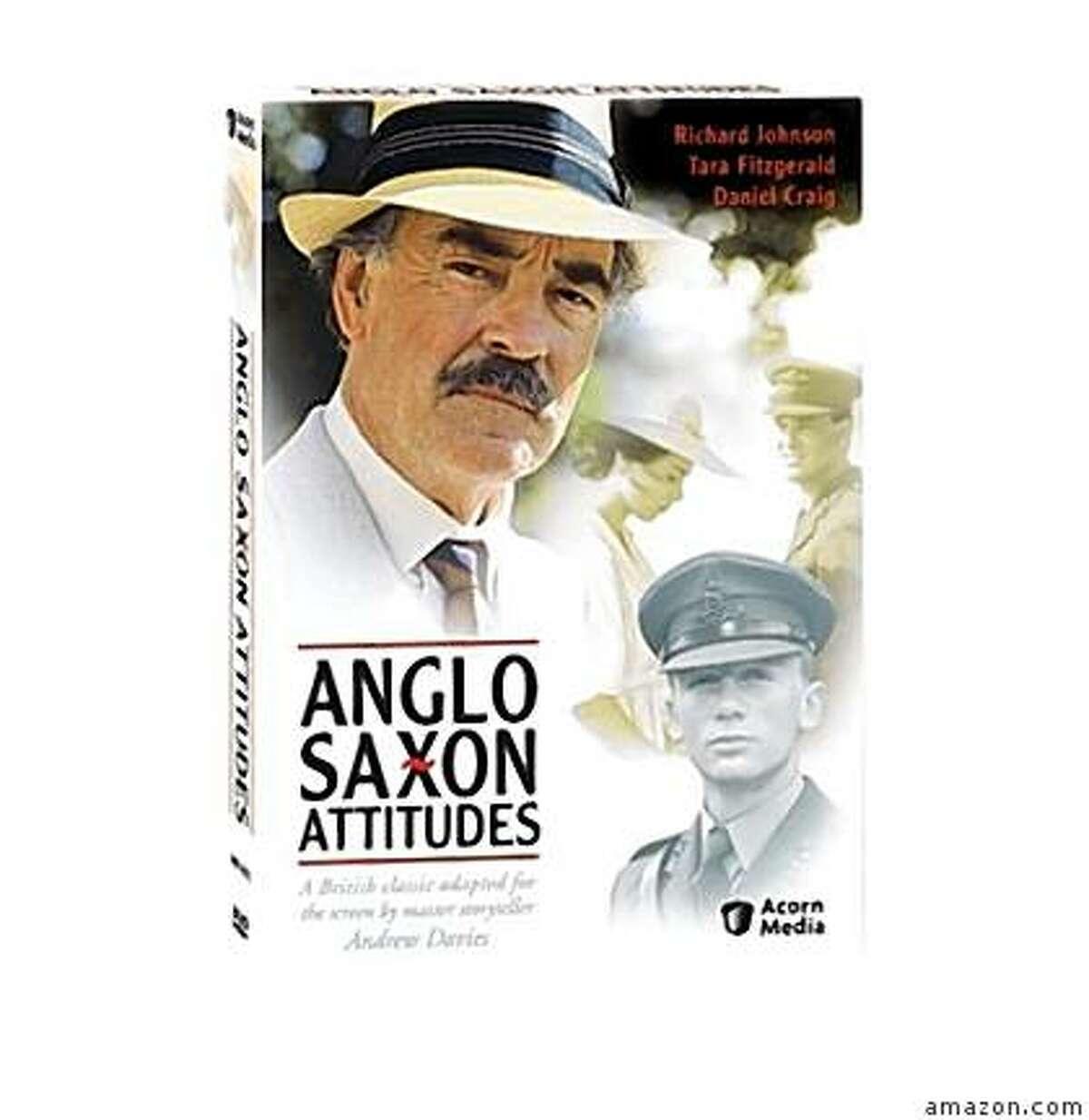 dvd cover ANGLO-SAXON ATTITUDES