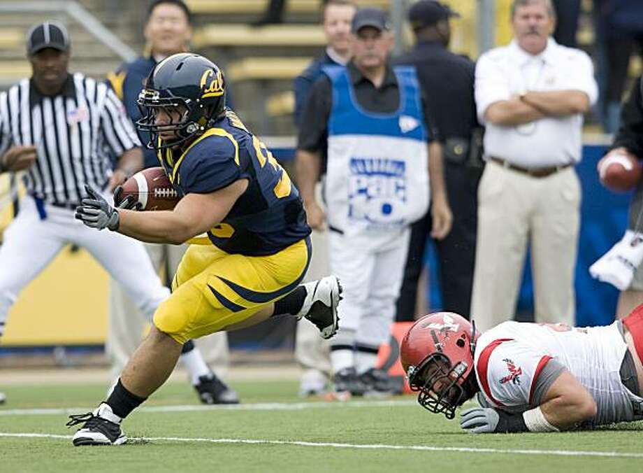 Cal fullback Brian Holley Photo: Michael Pimentel, GoldenBearSports.com