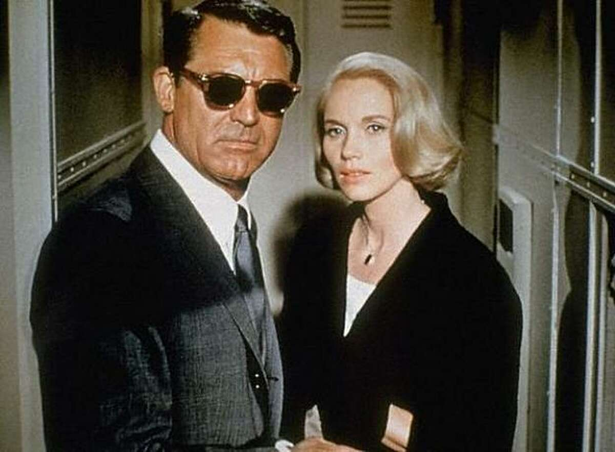 Cary Grant and Eva Marie Saint in