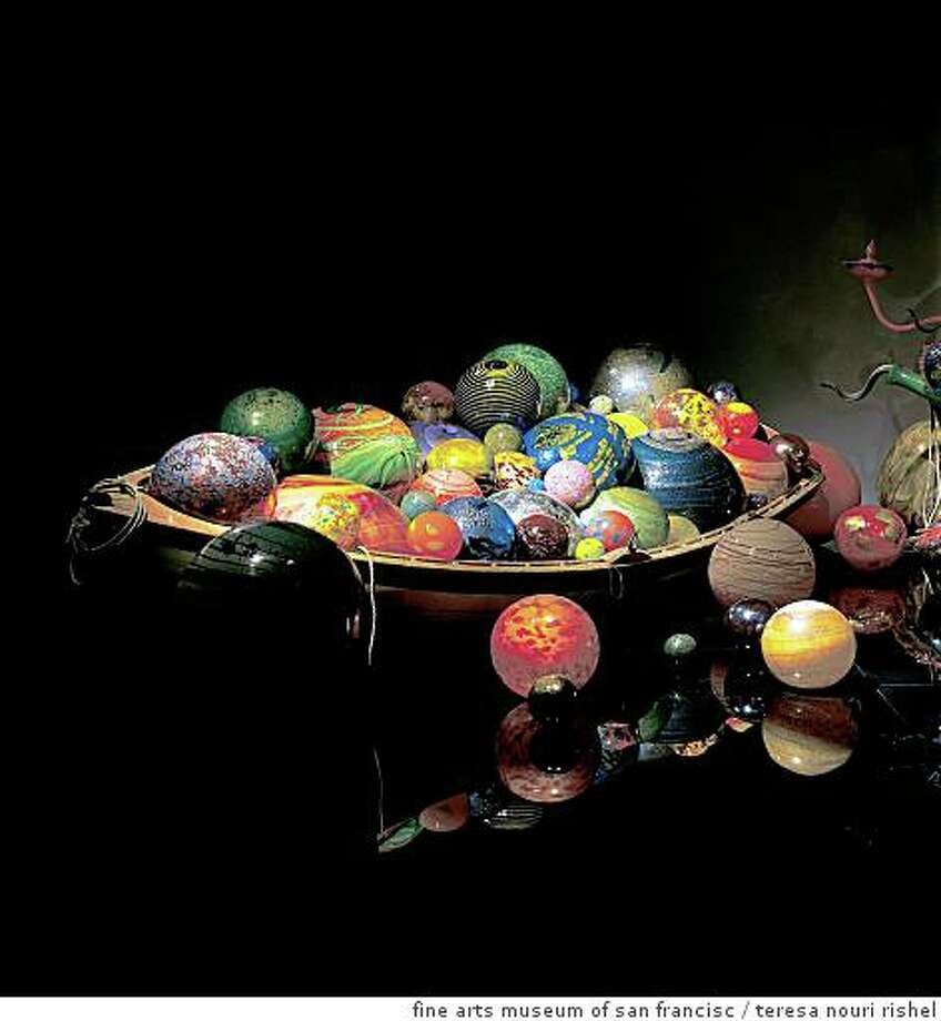 Art Review Chihuly At The De Young Sfgate