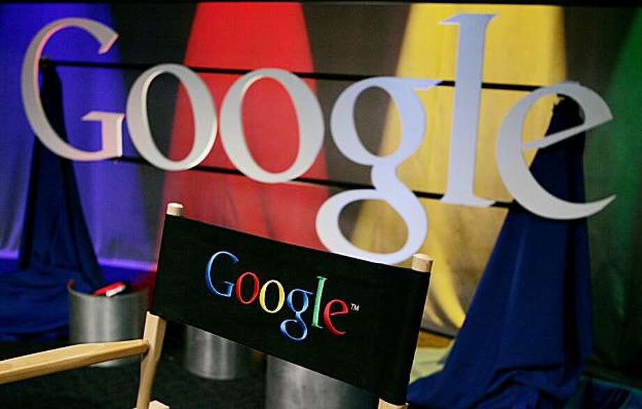 FILE - In this May 30, 2007 file photo, a Google sign inside Google headquarters is seen in Mountain View, Calif. A Paris court has convicted Google Inc. Friday, Dec. 18, 2009, in a copyright infringement case over online publication of French books.(AP Photo/Paul Sakuma, file) Photo: Paul Sakuma, AP