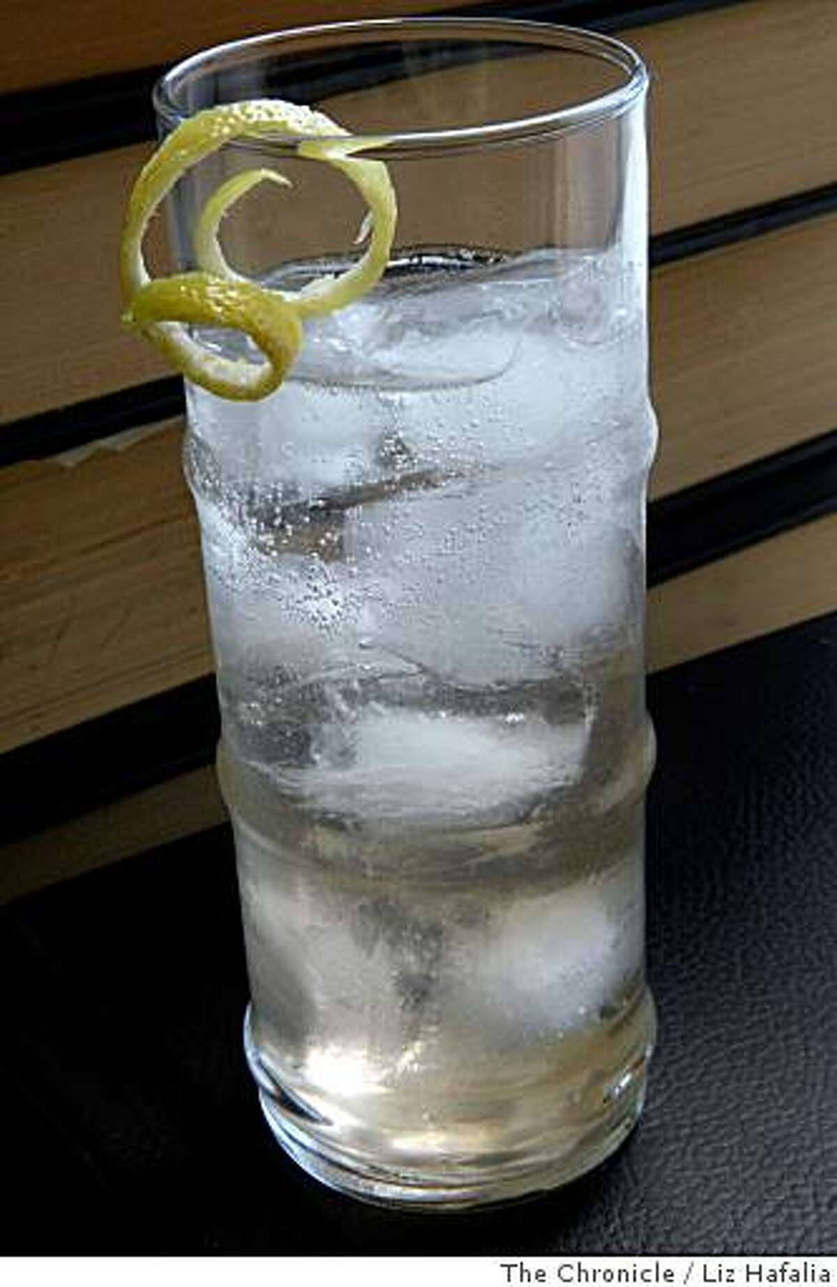 A Sparkling Gin Refresher Named for No One & Prepared Somewhat in the Style of the 19th Century.