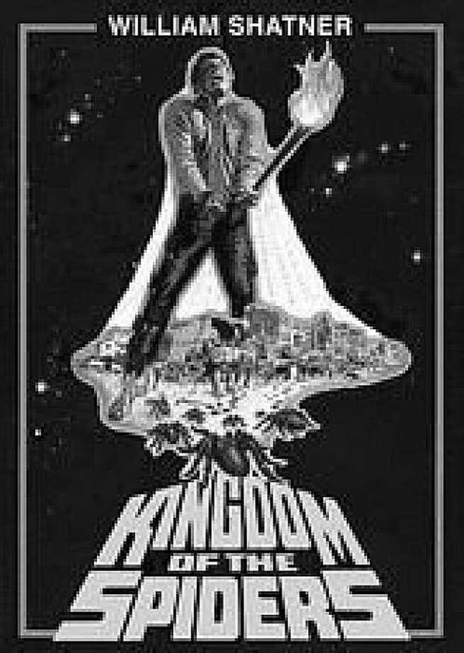 dvd cover KINGDOM OF THE SPIDERS Photo: Amazon.com