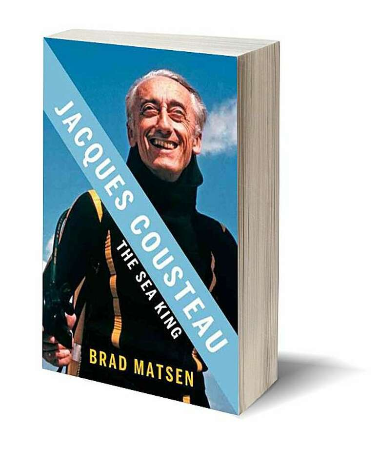 Jacques Cousteau: The Sea King (Hardcover) by Brad Matsen (Author) Photo: Pantheon
