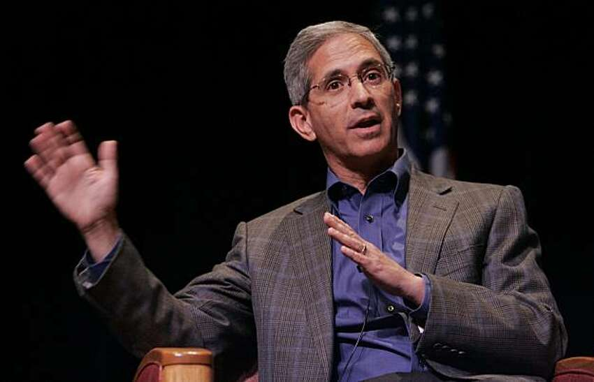 California Insurance Commissioner Steve Poizner, who is running for Governor of California, speaks during a panel at Santa Clara University in Santa Clara, Calif., Wednesday, Sept. 16, 2009. (AP Photo/Paul Sakuma)