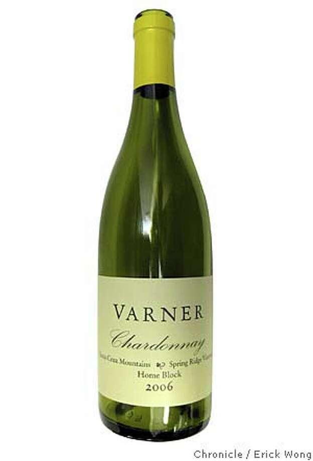 2006 Varner Spring Ridge Vineyard Home Block Santa Cruz Mountains Chardonnay Photo: Erick Wong / SFC
