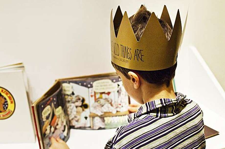 The Contemporary Jewish Museum's free Target Family Day on Dec. 25 is a great chance to enjoy the exhibition There's a Mystery There: Sendak on Sendak before it closes in January. Photo: Weeks Photography