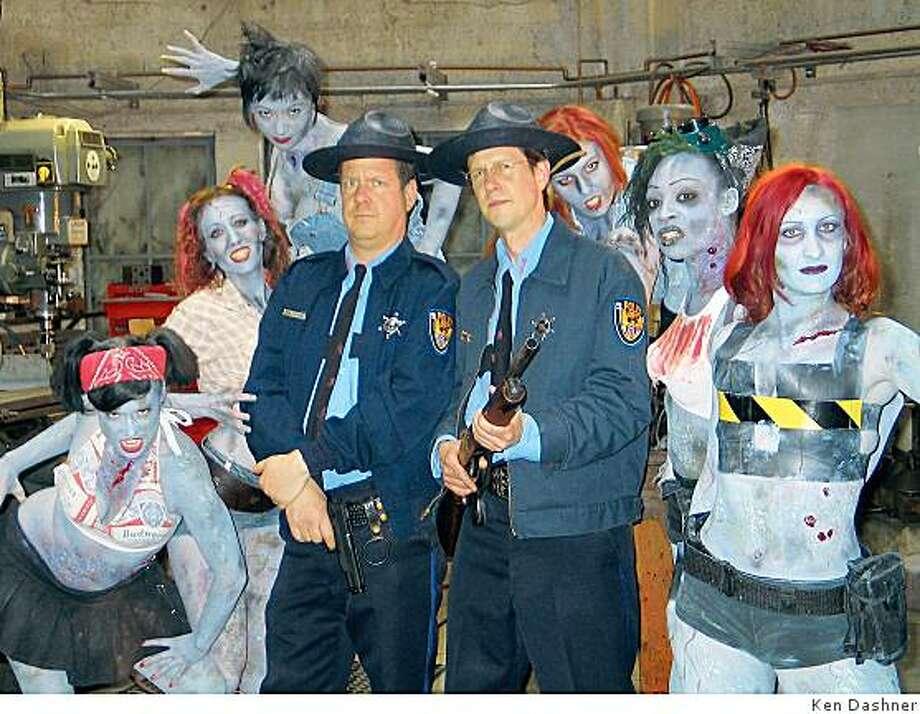 The Living Dead Girlz in the movie RetarDEAD Photo: Ken Dashner