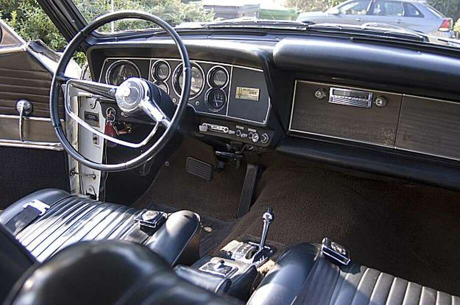 Driving a classic American car makes me feel young again and rekindles those memories of rather innocent adolescent escapades in this type of chrome-adorned vehicle. Ben Visnick and his 64 Studebaker Hawk at his home in Oakland. Car shot in driveway because of mechanical difficulties on December 3, 2009. Last model year for Studebaker Company Photo: Stephen Finnerty