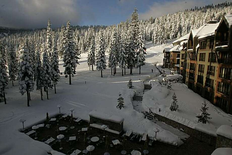 The newly opened Ritz-Carlton Highlands at Lake Tahoe, near Truckee and  Northstar. Photo: Spud Hilton, The Chronicle