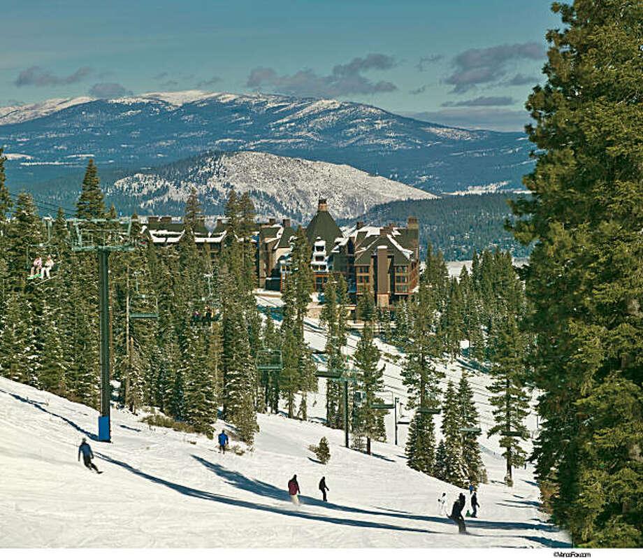 images of the newly opened Ritz-Carlton of Lake Tahoe-- handout Photo: Elizabeth Carmel