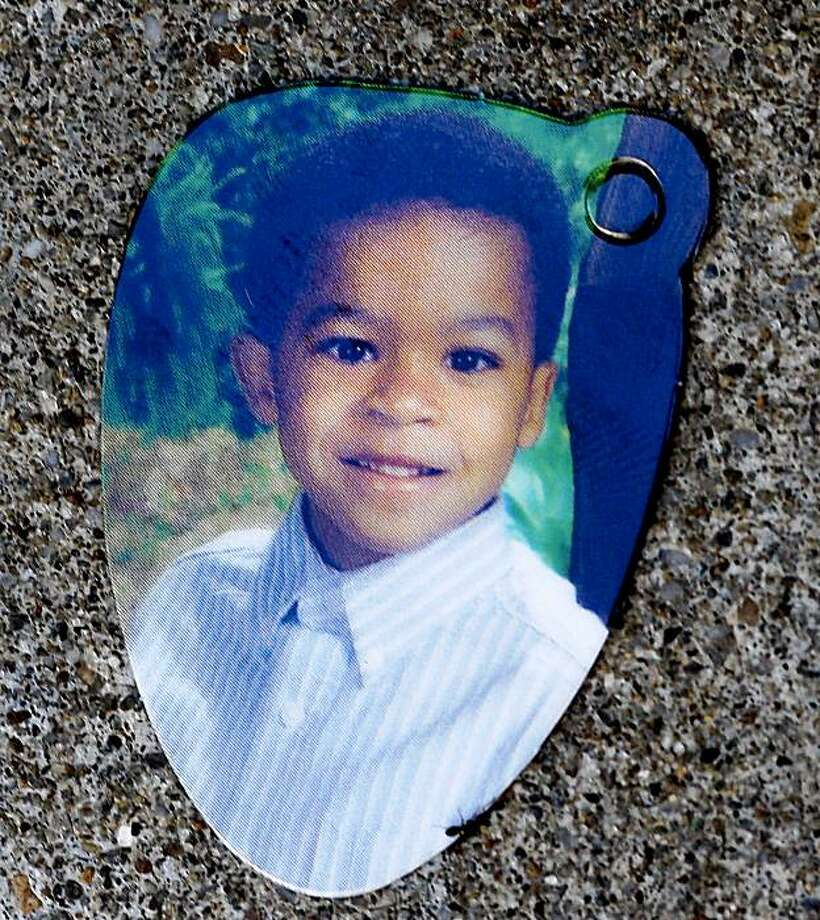 The family has a small portrait of Hasanni Campbell they wanted released. Louis Ross, the foster parent of missing child Hassani Campbell spoke to the media from the living room of his Fremont home Wednesday August 12, 2009. Photo: Brant Ward, The Chronicle