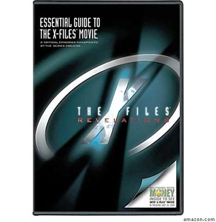 dvd cover: THE X-FILES: REVELATIONS Photo: Amazon.com