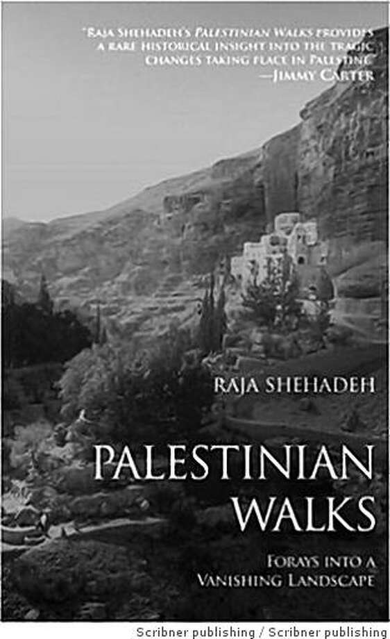 """Cover for Raja Shehadeh's book """"Palestinian Walks, Forays into a Vanishing Landscape"""", by Scribner Photo: Scribner Publishing"""