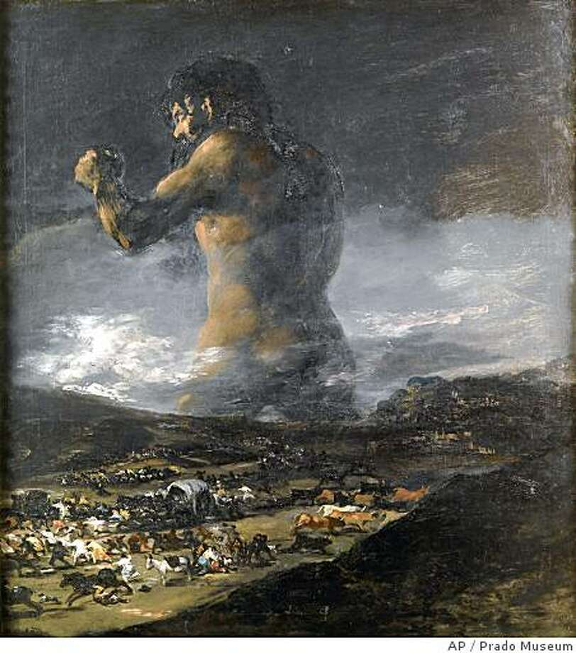 Billedresultat for goya the giant