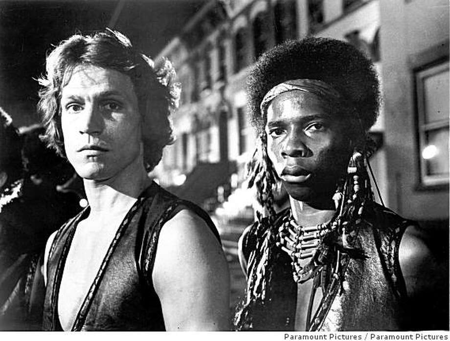 """The Warriors"", a 1979 Parmount Picture, produced by Lawrence Gordon, music by Barry DeVorson. Based on the novel by Sol Yurick. Directed by Walter Hill. Photo: Paramount Pictures"
