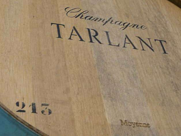 Champagne Tarlant barrels. Photo: Courtesy Champagne Tarlant