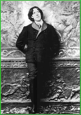 Oscar Wilde on his speaking tour in 1882.     Oscar Wilde  Ran on: 10-24-2004 Oscar Wilde: The poet spoke to San Francisco's elite in March 1882 at Platt's Hall.--- Sent 02/01/12 19:28:12 as cult12-PH_wilde with caption: Oscar wilde