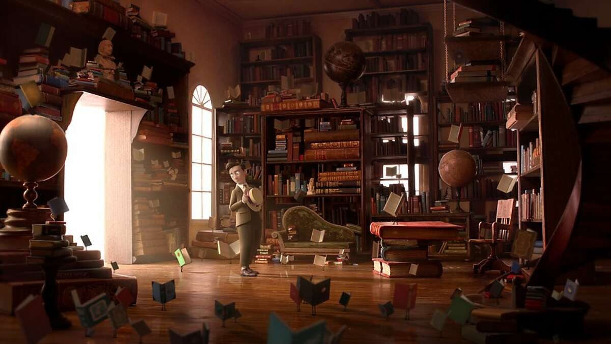 """""""The Fantastic Flying Books of Mr. Morris Lessmore"""" is nominated for an animated short Oscar for 2012."""